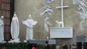 Altarul Sanctuarului marian din Knock