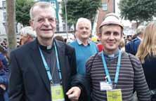 PS Cornel Damian și preotul greco-catolic Remus Ghiran